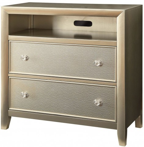 Briella Silver TV Chest