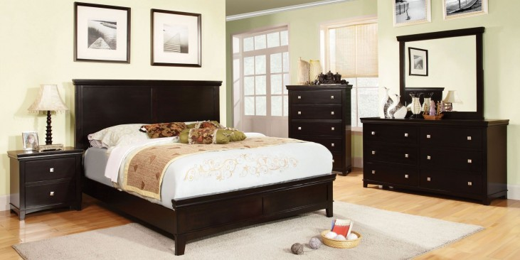 Spruce Espresso Youth Panel Bedroom Set