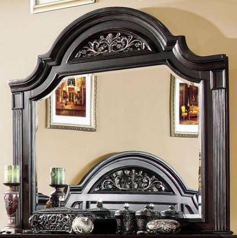 Syracuse Dark Walnut Mirror