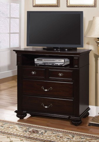 Syracuse Dark Walnut Media Chest