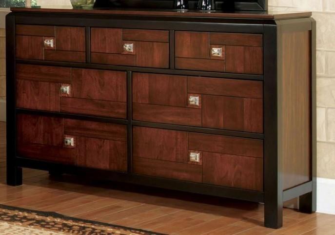 Patra Acacia and Walnut Dresser