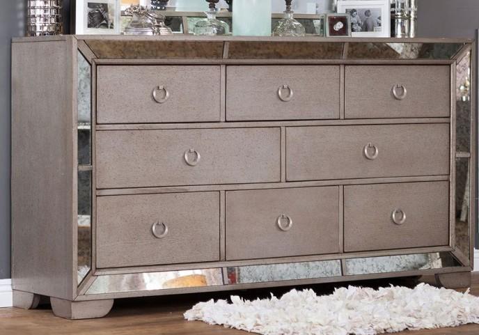 Loraine Silver Dresser