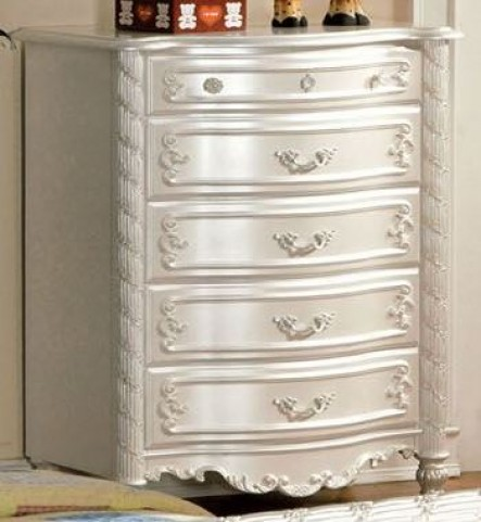 Alexandra Pearl White Chest