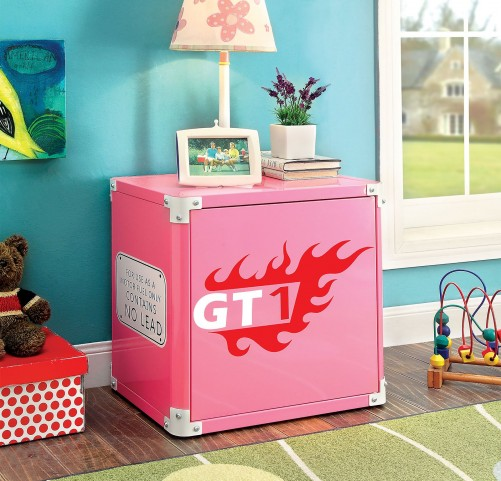 Power Racer Pink Nightstand