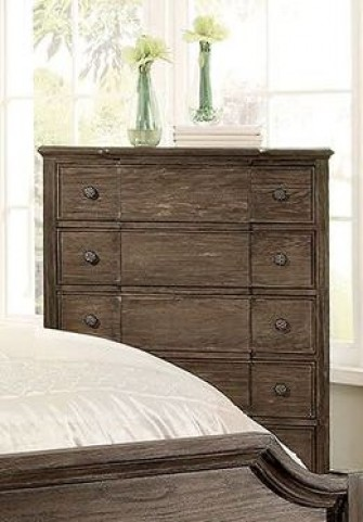 Halliday Wired Brushed Gray Chest