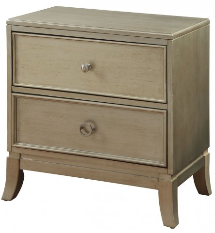 Enid Silver Nightstand