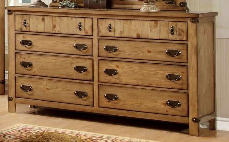 Pioneer Burnished Pine Dresser