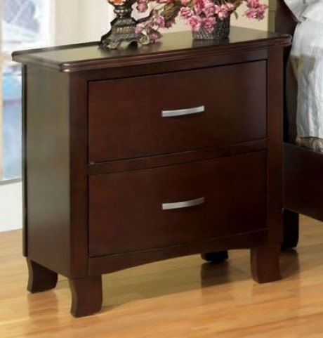 Crest View Brown Cherry Nightstand