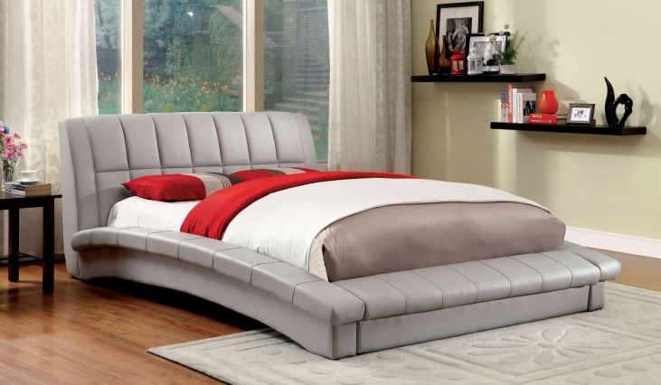 Vizela Gray Cal. King Bed