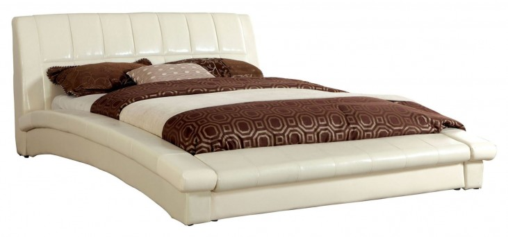 Vizela Ivory Cal. King Bed