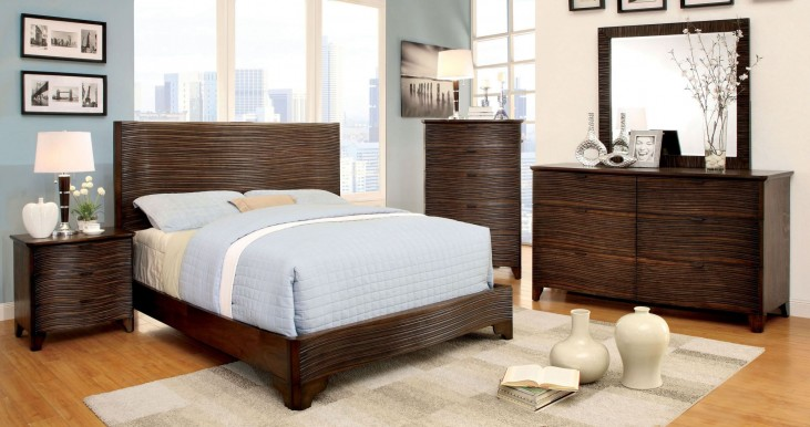 Bisbee Cognac Platform Bedroom Set