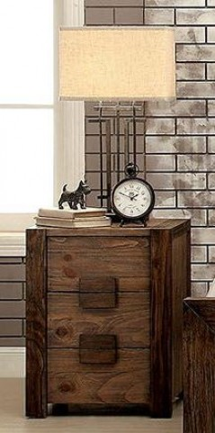 Aveiro Rustic Natural Nightstand
