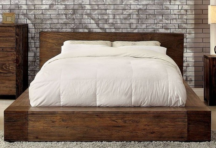 Janeiro Rustic Natural King Bed