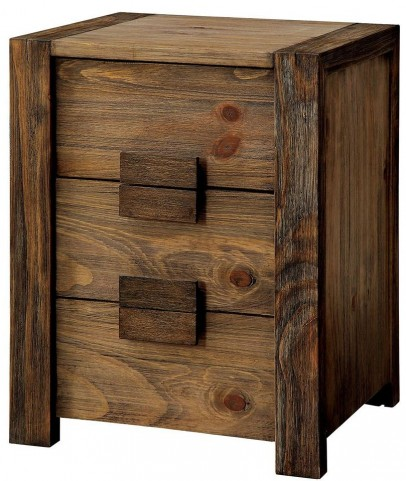 Aveiro Rustic Natural Drawer Nightstand