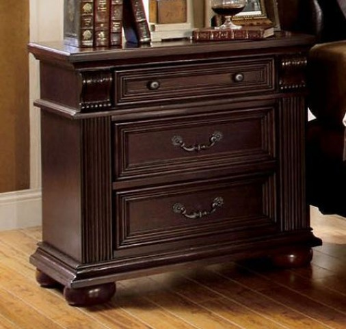Esperia Brown Cherry Nightstand