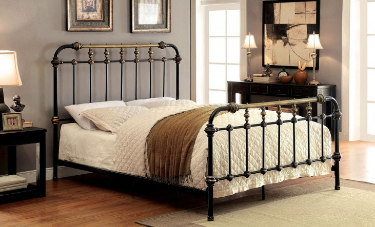 Riana Cal.King Metal Bed