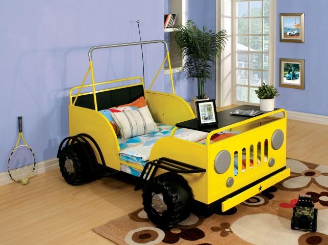 Trekker II Twin Yellow Bed