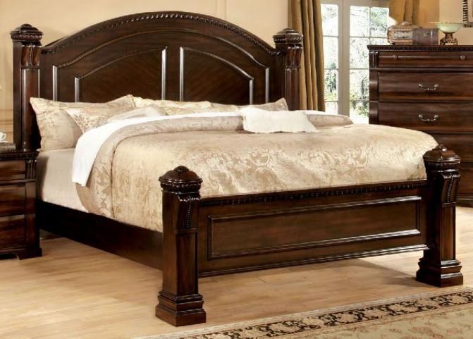 Burleigh Cherry Cal. King Panel Bed