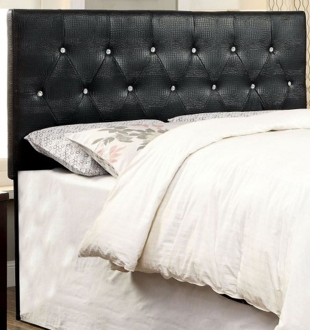Galen Black Full/Queen Headboard
