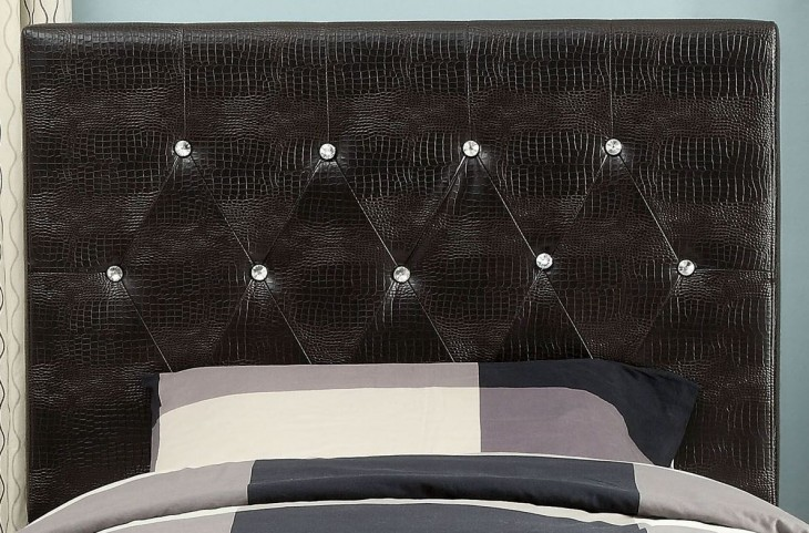 Galen Brown Twin Headboard
