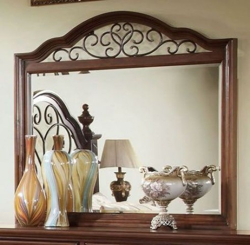 Landaluce Antique Dark Oak Mirror