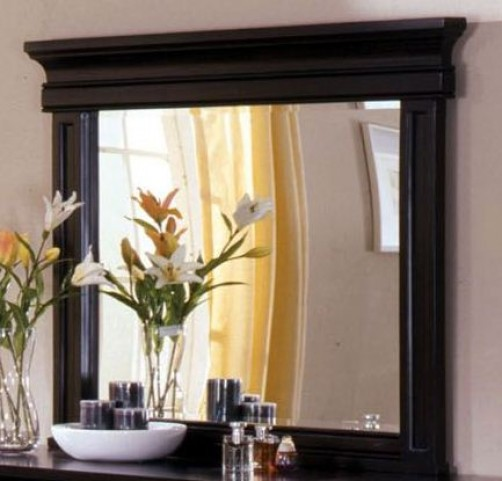 Cambridge Deep Espresso Mirror
