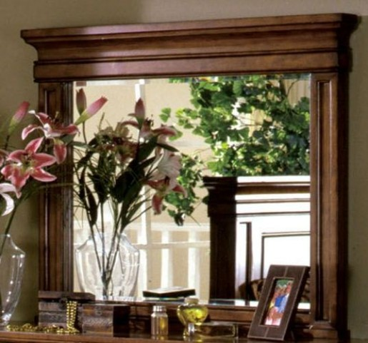 Cambridge Rich Tobacco Oak Mirror