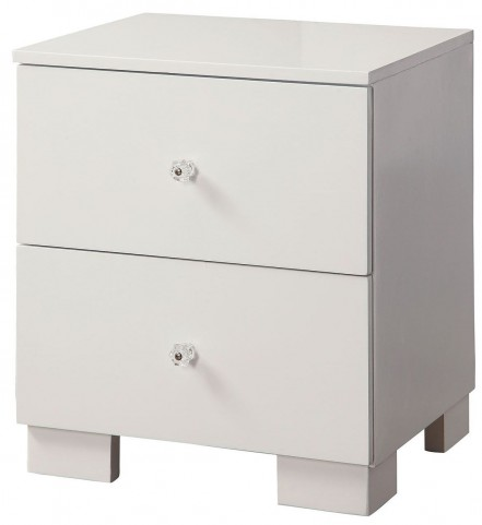 Lizbeth White Nightstand