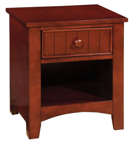 Cara Rich Cherry Nightstand