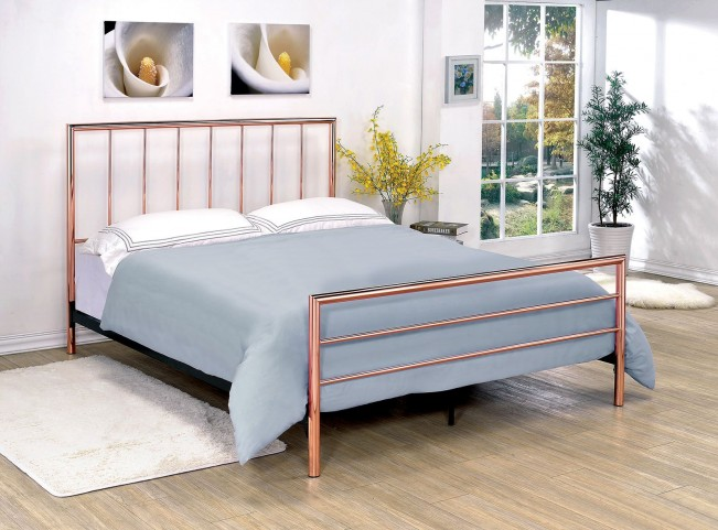 Diana King Metal Bed