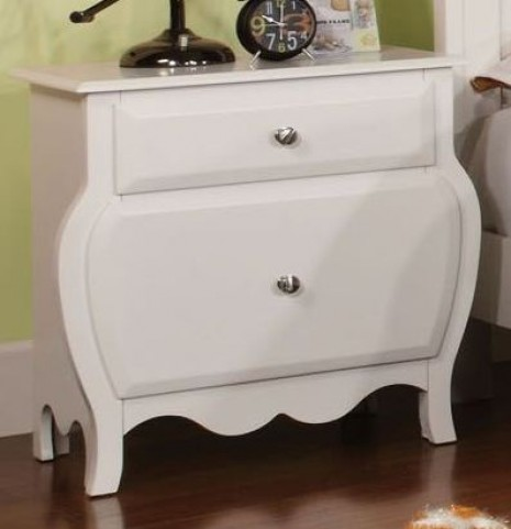 Roxana White Nightstand