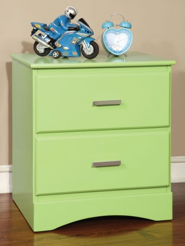 Prismo Green Nightstand