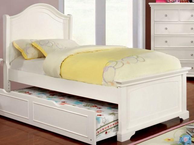 Mullan White Full Platform Bed