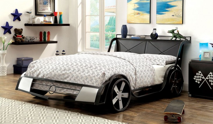 Gt Racer Full Platform Bed