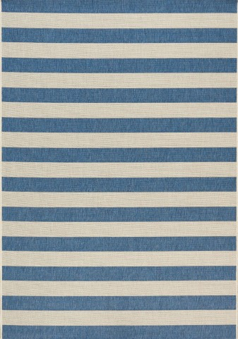 Coast Navy/Cream Stripes Flatweave Medium Rug