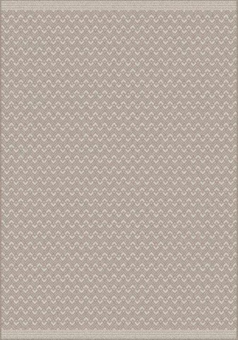 Coast Beige and Tan Diamond Waves Flatweave Large Rug