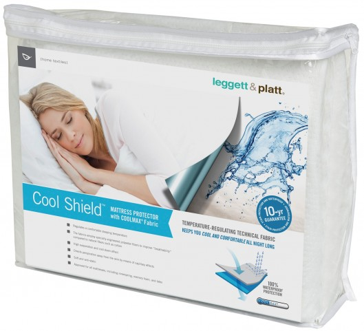 Cool Shield Split King Size Mattress Protector