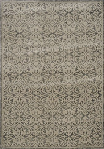 Coventry Brown and Beige Wrought Iron Large Rug