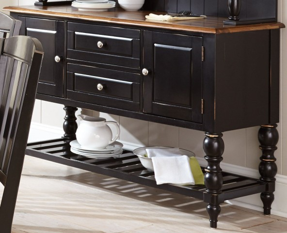 Carrolton Medium Oak Buffet