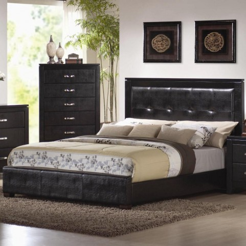 Dylan King Upholstered Bed