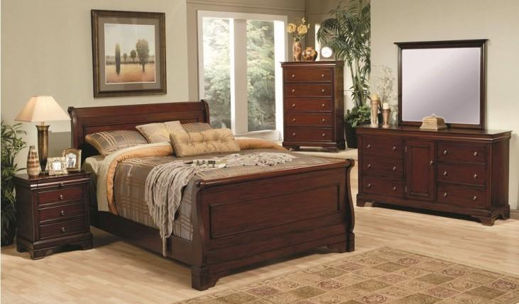 Versailles Sleigh Bedroom Set - 20148
