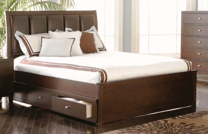 Lorretta Queen Storage Bed