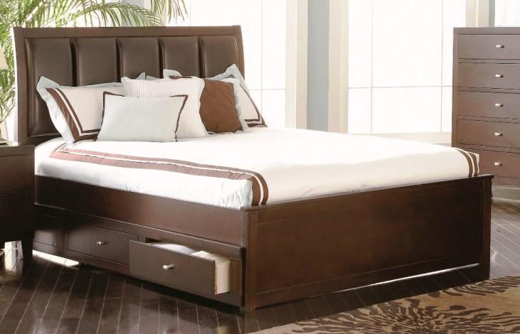 Lorretta King Storage Bed