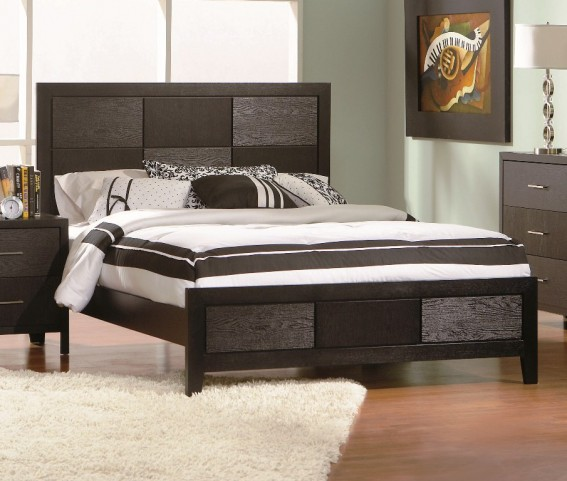 Grove Cal. King Platform Bed - 201651