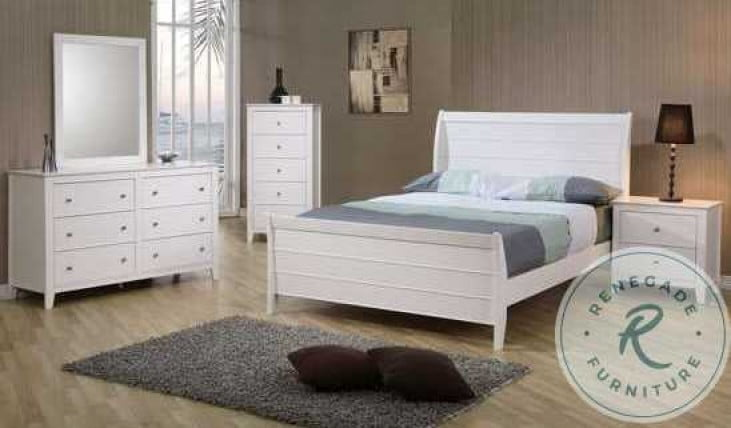 Selena Youth Sleigh Bedroom Set - 400231