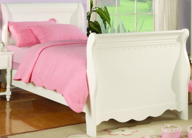 Pepper Full Sleigh Bed - 400360F