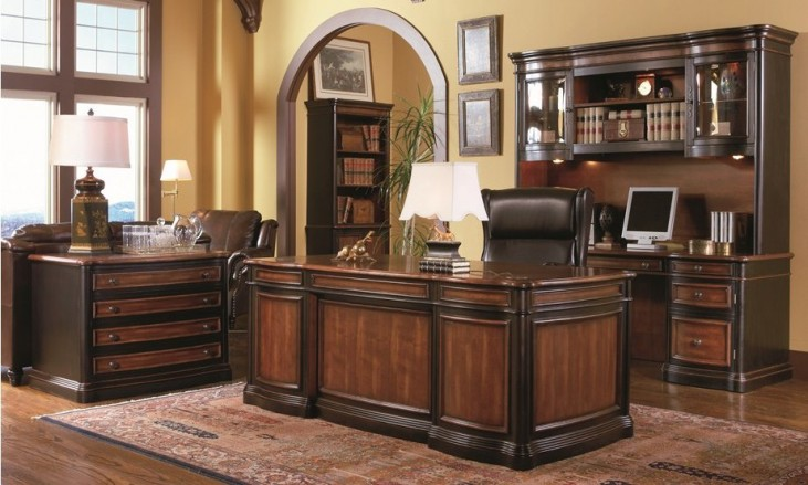 Pergola Grand Style Home Office Set - 80050