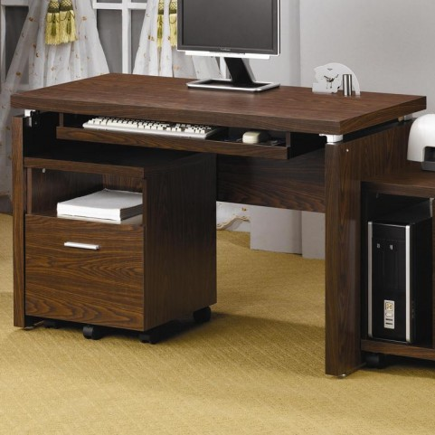 Peel Brown Computer Desk - 800831