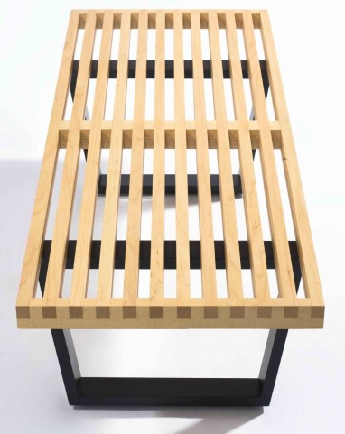 Modern Classics Slat Bench A Maple Bench