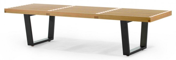 Modern Classics Slat Bench B Maple Bench